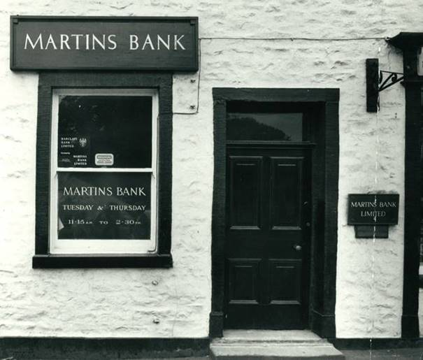 Martins Bank Clitheroe  Image © Barclays Ref 30/1058